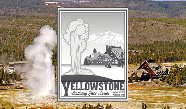 Yellowstone Illustration